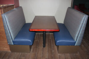 restaurant booths with tables kijiji in ontario buy sell