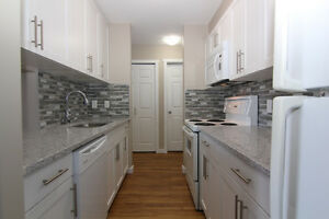 Newly Reno'd 1 BR. Condo c/w U/G Parking, Near CP LRT