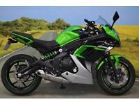 Kawasaki EX650 2015 ** ABS, OXFORD HEATED GRIPS, TAIL TIDY, DIGITAL DISPLAY **