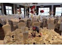 11 White Manzanita wedding centrepiece trees, 120cm, fairy lights & flower decor
