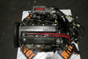 JDM BP DOHC Single Turbo Engine & Manual 5SPD AWD Transmission 8