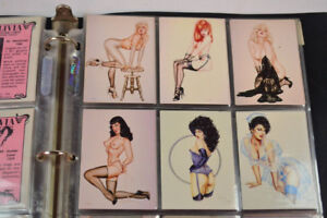 Olivia Pinups Art Collector Cards Complete Set of 90