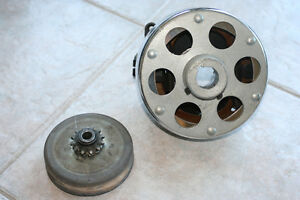 Comet Clutch and Brake system for Go Cart