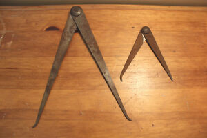 Pair of Old Straight Calipers