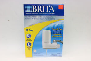 BRITA Faucet water filtration system(325)
