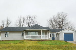 Outstanding 1266 square foot home situated on 12.26 acres