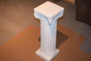 Roman style pedestal plant stand