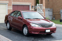 2006 Toyota Camry LE Sedan 2.4L from owner, CarProof, e-test
