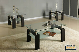 NEW ★ 3 piece coffee table sets ★ Can Deliver Kitchener / Waterloo Kitchener Area image 2