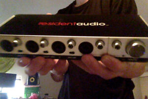 Resident Audio T4 Thunderbolt Audio Interface (soundcard)