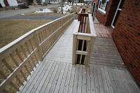 Wheelchair ramp - fully assembled