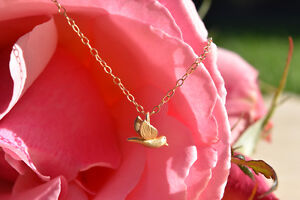 Gold Bird Necklace- Brand New & Etsy Shop Necklace