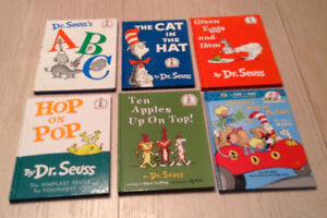 Dr Seuss Books -   ALL  SOLD pending pick up