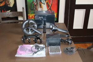 NEW Take off Ultegra 6800 & NEW 105 5800 groupset shifters crank