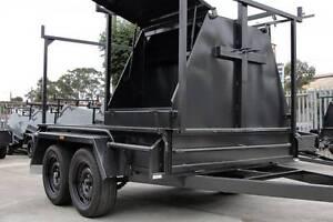 Half Tradesman Tandem 8x5 Trailer Tall 4ft Tool Box - 1990kg GVM Thomastown Whittlesea Area Preview