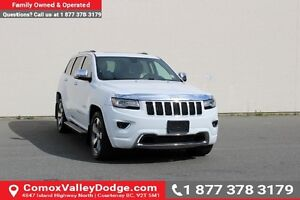 2014 Jeep Grand Cherokee Overland NAVIGATION, BACK UP CAMERA,...
