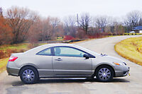 2006 Honda Civic sport Coupe  160,000kms   5 speed std *warranty