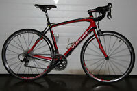2012 Specialized Roubaix Elite all Carbon road bike Shimano 105