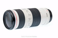 Canon 70 200 f4l witj IS $800