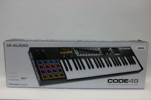M-Audio Code 49 USB MIDI Keyboard Controller (#16291)