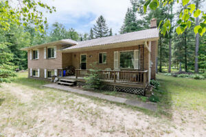Home on Private just under ½ Acre Lot
