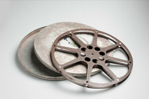 16mm film projector or empty reel