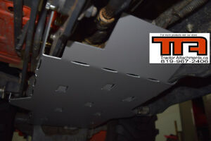 Skid plate (plaque protectrice) pour Kubota BX