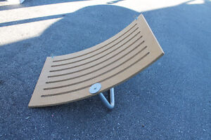Ikea curved shelf for hats or stuffies etc $8  24 inches wide,