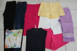 GIRLS SIZE 8 9 CLOTHING, PANTS, SHORTS, TOPS, CAPRI, SHOES