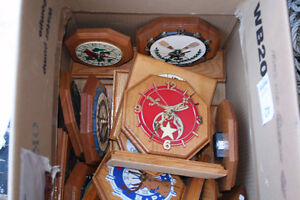 HOMEMADE CLOCKS--$5.00 for one-or $9.00 for 2