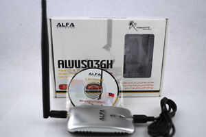 antenne Alpha booster wi-fi awus036h, wireless traffic