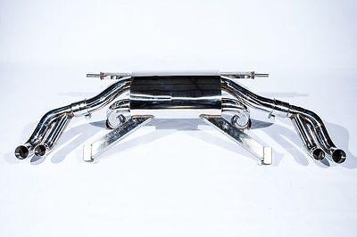AUDI R8 4.2L V8 08-13 T304 Rear Section Performance Race Spec Exhaust System
