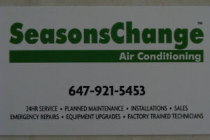 Seasons Change Heating - Air Conditioning - Refrigeration