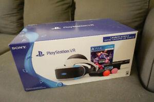 Launch Bundle PlayStation VR / PSVR--Helmet, Controllers, Camera