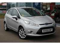 2010 FORD FIESTA 1.4 Zetec ALLOYS, P SENSORS and AIR CON