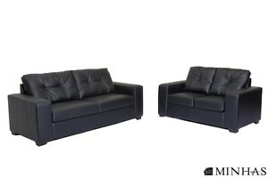 Brand NEW Sofa Set in Black or Brown! Call 204-691-8283!