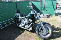 Harley-Davidson Softail FXSTC 1989 beaucoup de chrome