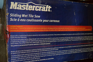 Mastercraft Tile Saw