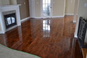 Floor sanding , repair , installation / Sablage de plancher