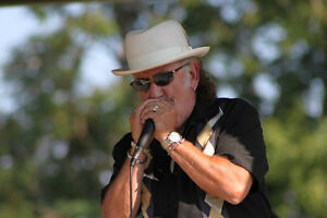 Harmonica player with vocals , frontman ,or side man avail Peterborough Peterborough Area image 1