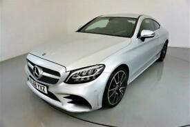 image for 2018 Mercedes-Benz C-CLASS 2.0 C 220 D AMG LINE 2d AUTO-1 OWNER CAR-HEATED HALF
