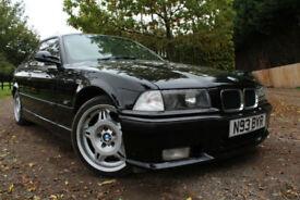 BMW E36 328i Sport Manual Coupe, BMW HISTORY , SHWARZ BLACK TAN LEATHER