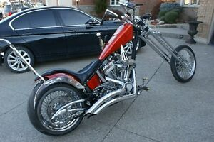 V-Twin Custom Chopper for Sale