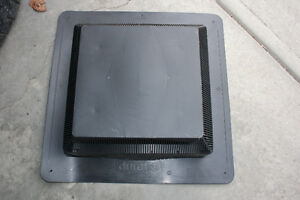 Weatherpro Black Roof Vent