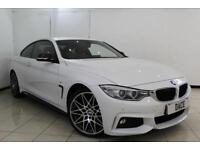 2014 14 BMW 4 SERIES 3.0 430D M SPORT 2DR AUTOMATIC 255 BHP DIESEL