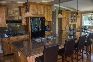 Beautifully Renovated Acreage with detatched shop