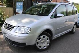 2004 Volkswagen Touran 1.9 TDI SE 7 Seats FSH Cambelt Changed Finance Available