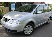 2004 Volkswagen Touran 1.9 TDI SE 7 Seats FSH Cambelt Changed Finance Available