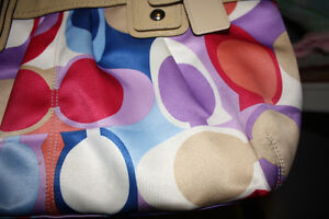 "COACH Signature ""C"" Multi-Coloured Bag London Ontario image 2"