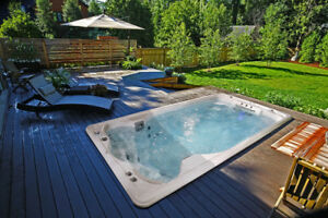 SwimLife SwimSpa All Weather Swimming Pool By Jacuzzi!